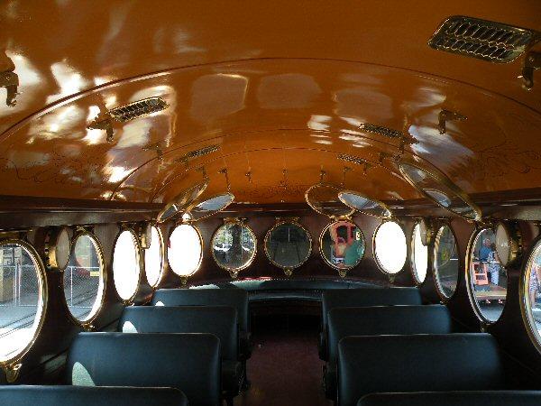 Inside of McKeen Motor Car #22
