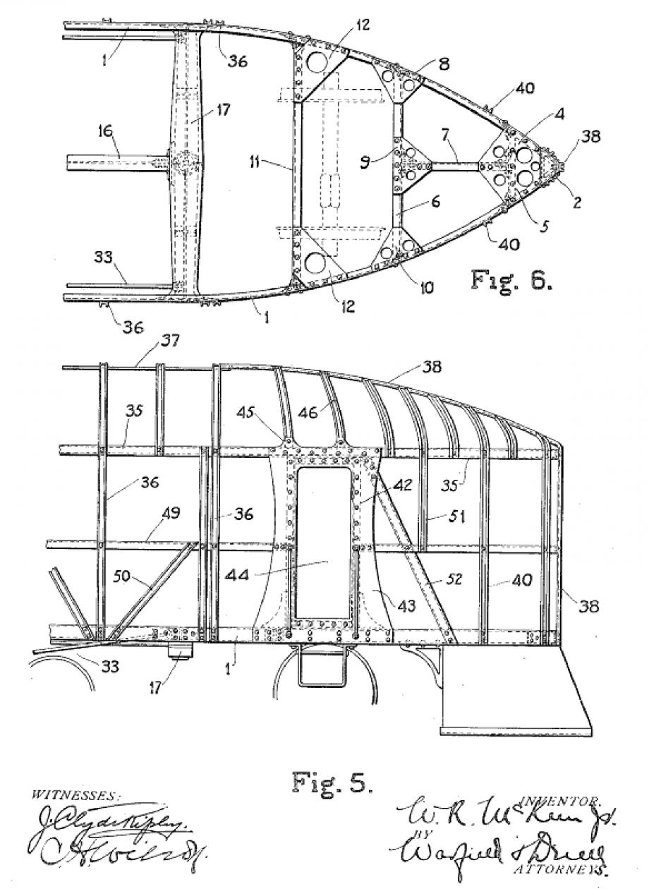 McKeen patent #972467 front