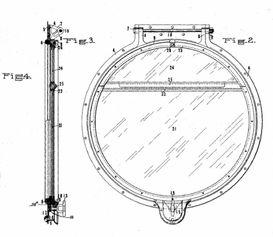 McKeen Round Window