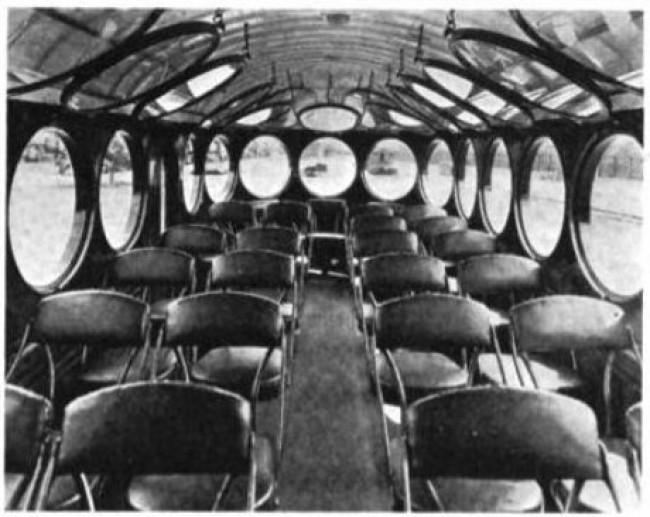 McKeen Bus Inside