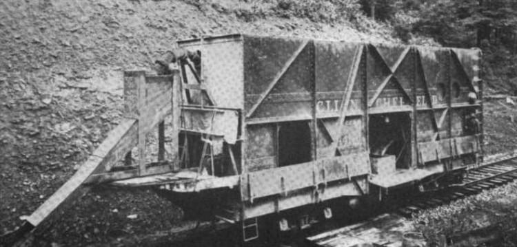 McKeen Concrete Car