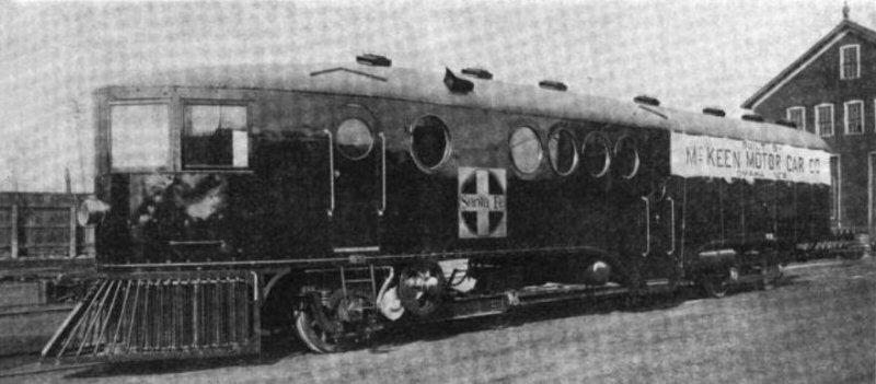 McKeen Car A.T.&S.F. 100 or 101