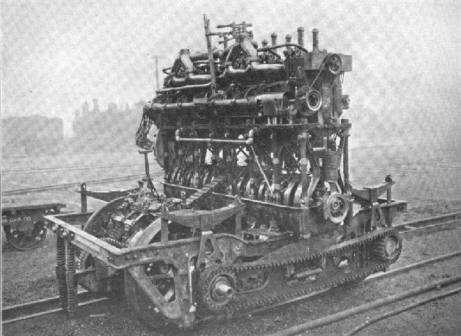 Trolley Gauge McKeen Car Engine.
