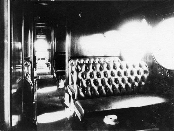 Inside of the Australia McKeen Car