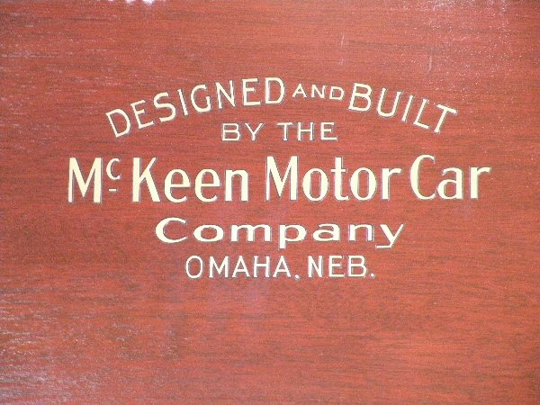 McKeen Motor Car #22 D&B logo