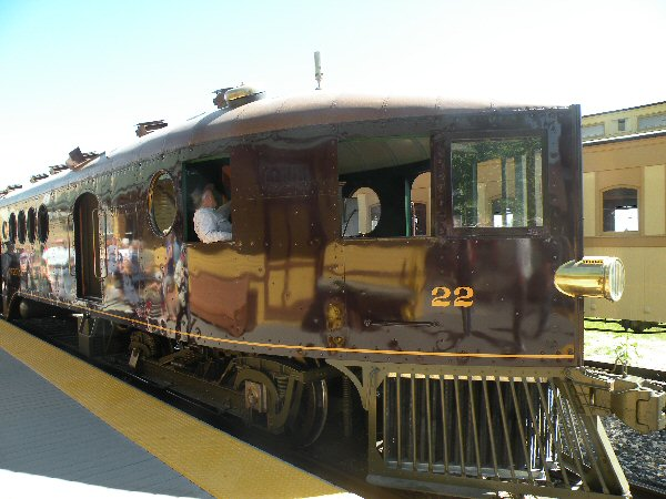 McKeen Motor Car #22 at the Wabuska Station