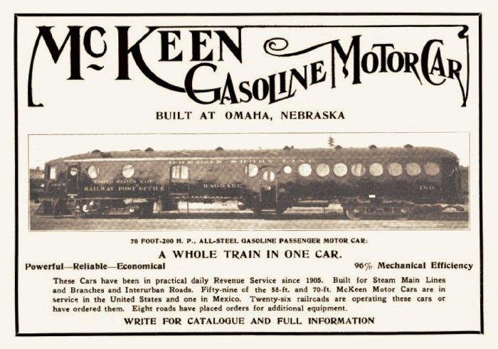 McKeen Motor Car Ad