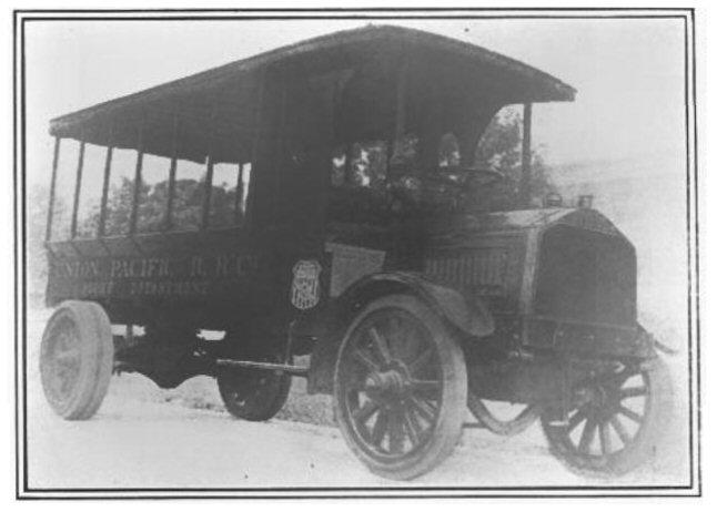 McKeen Union Pacific Motor Truck